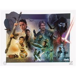 Star Wars: The Force Awakens Limited Edition Jason Palmer Europe 2016 Star Wars Celebration Print