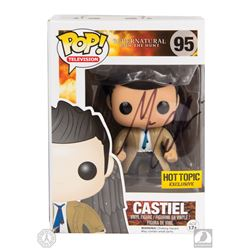 Supernatural Castiel with Wings Hot Topic Exclusive Funko Pop! Figure Signed by Misha Collins