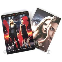 V: The Complete Second Season DVD Signed by Elizabeth Mitchell & Laura Vandervoort