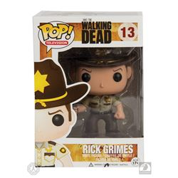 The Walking Dead Rick Grimes Funko Pop! Figure Signed by Andrew Lincoln
