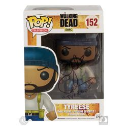 The Walking Dead Tyreese Funko Pop! Figure Signed by Chad Coleman