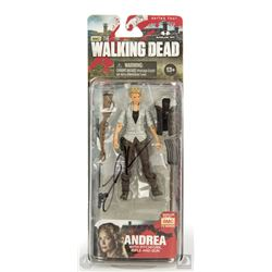 The Walking Dead Andrea Action Figure Signed by Laurie Holden