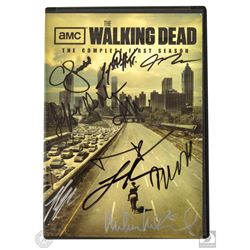 The Walking Dead Complete First Season 2-Disc DVD Set Signed by 10 Cast Members