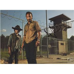 The Walking Dead Rick & Carl Mini Poster Signed by Andrew Lincoln