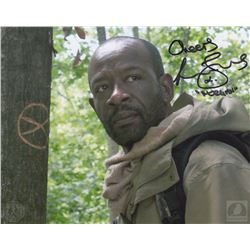 The Walking Dead Morgan Photo Signed by Lennie James