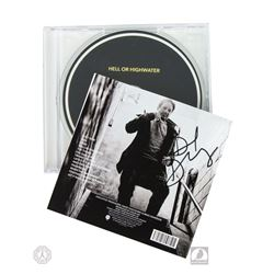 "The X-Files David Duchovny Signed ""Hell or Highwater"" CD"