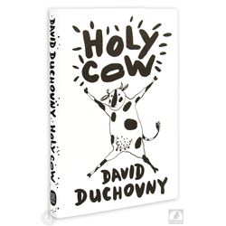 "The X-Files David Duchovny Signed ""Holy Cow"" Hardcover Book"