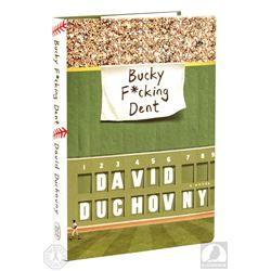 "The X-Files David Duchovny Signed ""Bucky F*cking Dent"" Book"