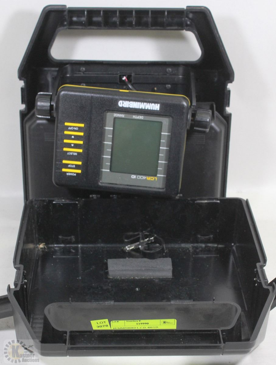 Humminbird l c d 400 i d portable fish finder for Humminbird portable fish finder