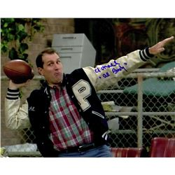 ed o 39 neill signed married with children football touchdown. Black Bedroom Furniture Sets. Home Design Ideas