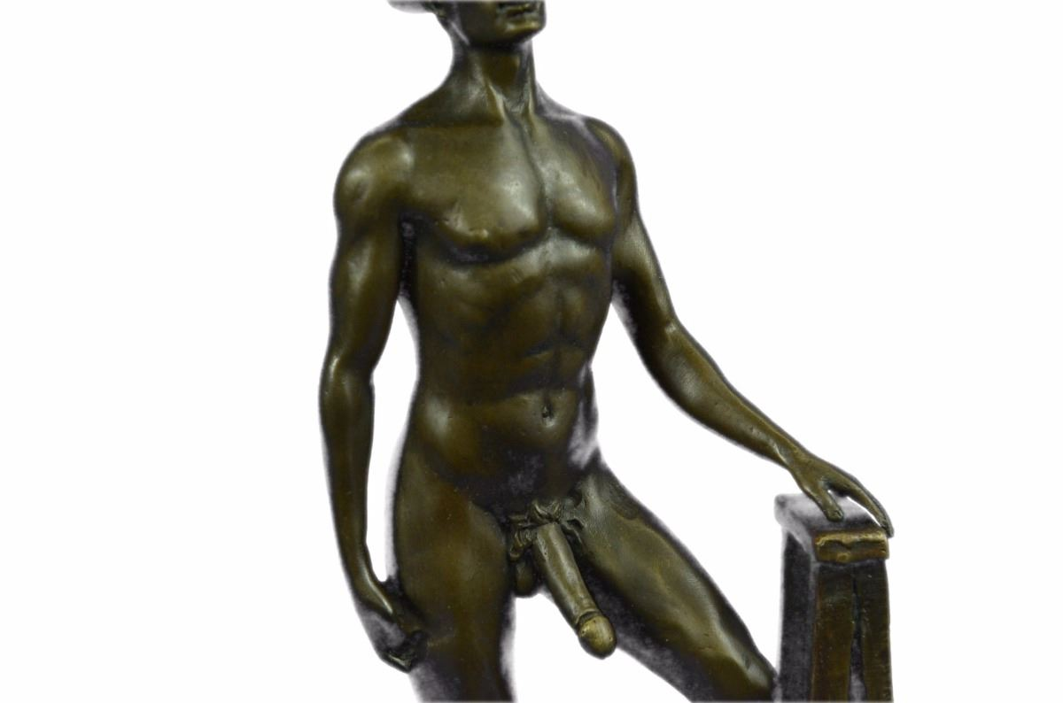 from Brentley beach gay male nude painting sculpture