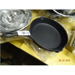 "2 Cast Iron Skillets - 12"" - 2 Times the Money"