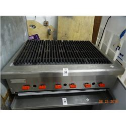 3' Commercial Gas Char Grill