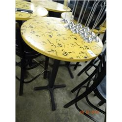 10 Bar Top Tables - 10 Time the Money