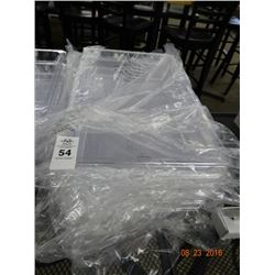 "6 Cambro Full Size by 4"" Insert Pans - 6 Times the Money"