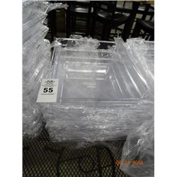 "6 Cambro 1/2 Size by 4"" Insert Pans - 6 Times the Money"