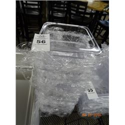 "6 Cambro 1/6 Size by 4"" Insert Pans - 6 Times the Money"