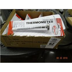 12 Pocket Test Thermometers - 12 Times the Money