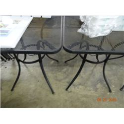 9 Metal Patio Tables w/2 Chairs - 9 Times the Money
