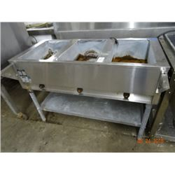 Eagle Electric 3 Comp Steam Table