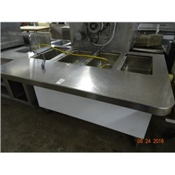 Commercial Electric 4 Comp Steam Table