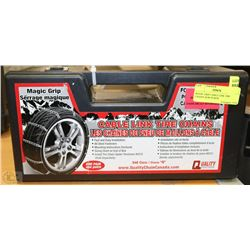 Magic Grip Cable Link Tire Chains New In Box
