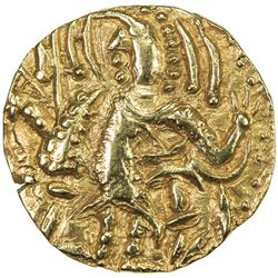 KIDARITE: Kidara, early 5th century, AV dinar (7.85g). EF