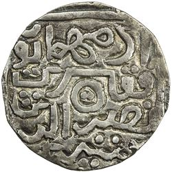 CHITTAGONG: Adam Humayun, ca. 1575-1586, AR tanka (9.68g), NM, ND, VF-EF