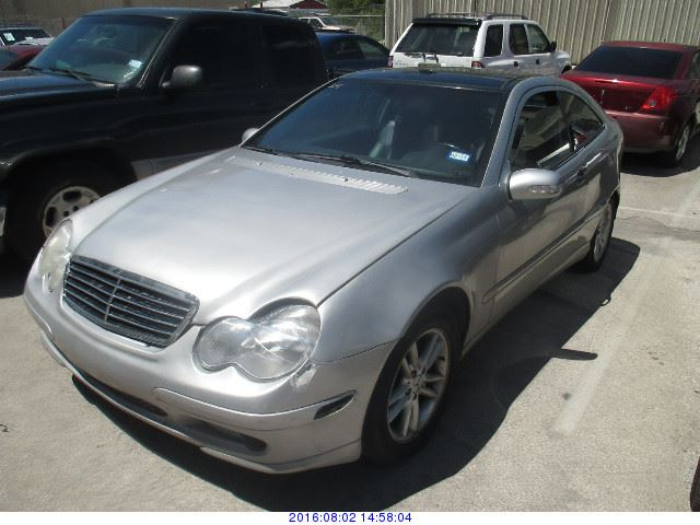 2003 Mercedes Benz C320 Rebuilt Salvage Rod