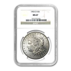 1903-O $1 Morgan Silver Dollar NGC MS67