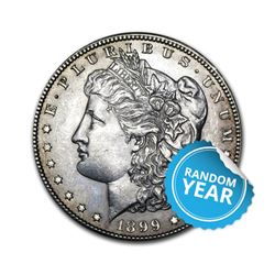 Common Date Morgan Silver Dollar AU/UNC