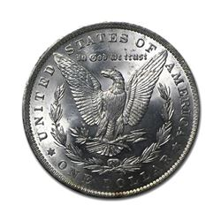 1882 $1 Morgan Silver Dollar AU