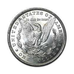 1885 $1 Morgan Silver Dollar AU