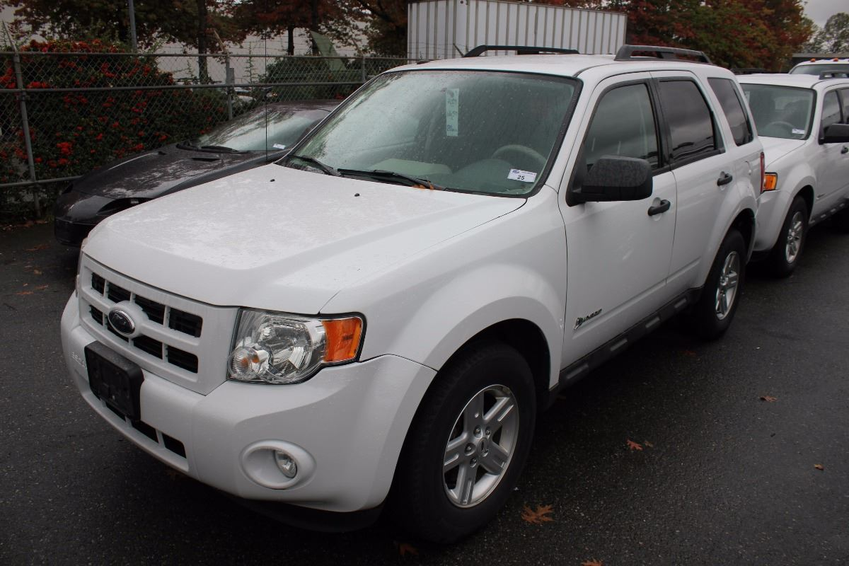 2009 ford escape hybrid 4 door suv white vin 1fmcu593x9ka31671. Black Bedroom Furniture Sets. Home Design Ideas