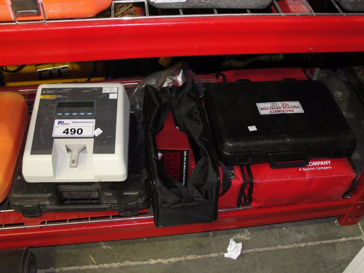 Electric Measuring Tools : Lot of electric measuring tools including digital remote