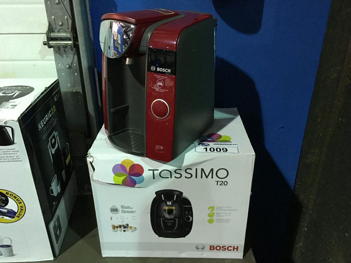 Bosch Tassimo Coffee Maker Wonot Start : 2 BOSCH TASSIMO COFFEE MAKERS - Able Auctions