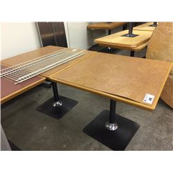 LOT OF 3 LARGE RESTAURANT TABLES