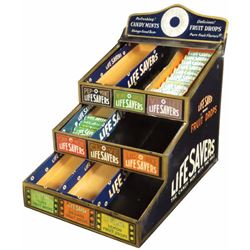 Lifesavers Tin Litho Store Display