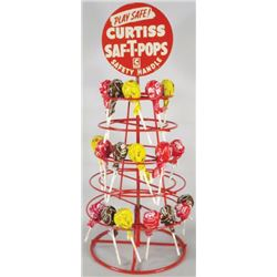 Curtiss Saf-T-Pops Store Display