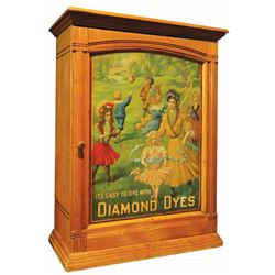 "Diamond Dyes ""Governess"" Dye Cabinet"