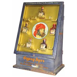 Gypsy Dyes Tin Store Display