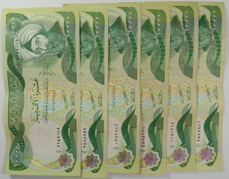 Image 1 6 X 10000 Iraqi Dinar Notes Official Currency Of Iraq Nice Circ