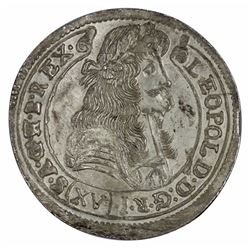 Hungary 1679 15 Krajczar, Uncirculated