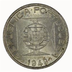 Mozambique 1949 5 Escudos, Choice Uncirculated