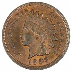 USA 1903 'Indian' Cent, Choice Uncirculated