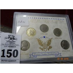 United States Nickel Set