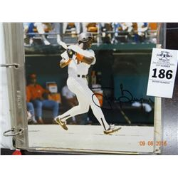 Autographed Tony Gwynn Photo