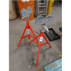 2 Ridgid Stock Roller Stands - 2 Times the Money