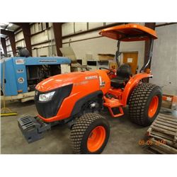 Kubota MX5800 Dsl. Mid Size Tractor w/Box Blade, 3 PT Hitch, HST, New Conditon, Shows Only 419.3 Hrs