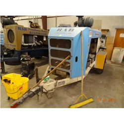 2005 Putzmeister TK50 Dsl. Concrete Pump Trailer, Shows 5385 Hrs. S#2108T0863
